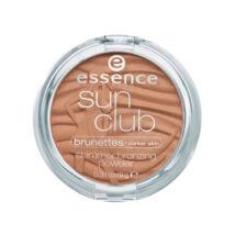 essence sun club shimmer bronzosító púder 20