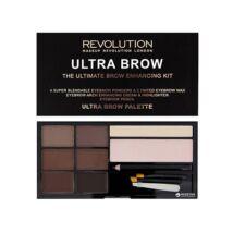 Makeup Revolution Ultra Brow Szemöldök Paletta medium-Dark