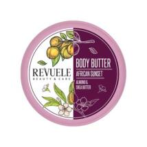 Revuele BODY BUTTER AFRICAN SUNSET Mandula & Shea Testvaj 200ml