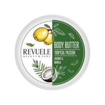 Revuele BODY BUTTER TROPICAL PASSION Kókusz & Marula Testvaj 200ml