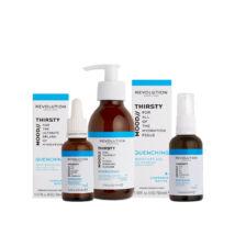 Revolution Skincare Quenching Arcápoló Csomag száraz bőrre