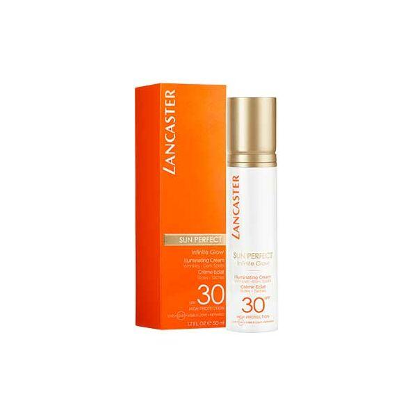 Lancaster Sun Perfect ragyogást fokozó fényvédő krém SPF30 50 ml