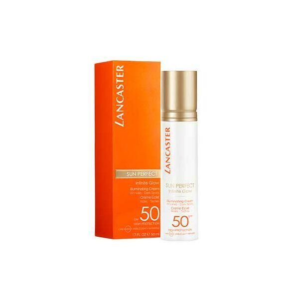 Lancaster Sun Perfect ragyogást fokozó fényvédő krém SPF50 50 ml