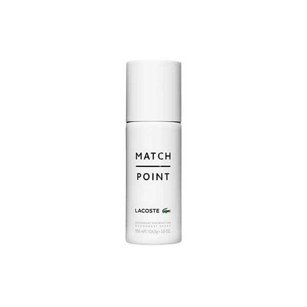 Lacoste Match Point Deo Spray Férfiaknak 150 ml