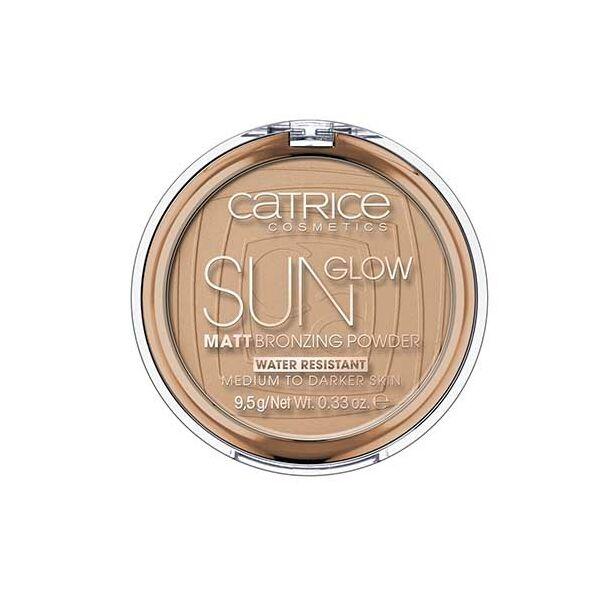 Catrice Sun Glow Matt Bronzosító Púder 035