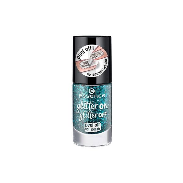 essence glitter on glitter off peel off körömlakk 06