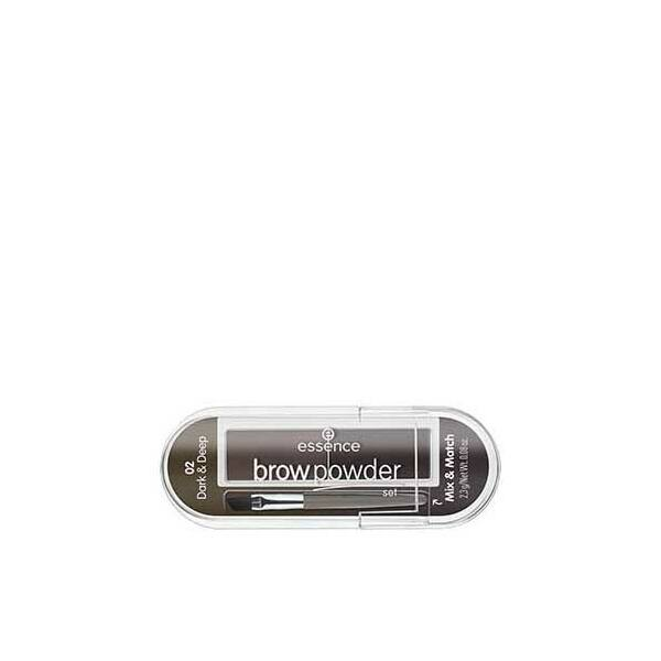essence brow powder szemöldökpúder szett 02