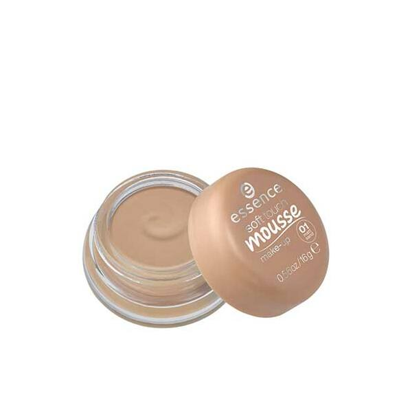essence soft touch mousse make-up hab állagú alapozó 01