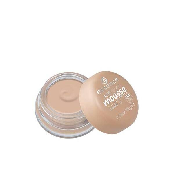 essence soft touch mousse make-up hab állagú alapozó 04