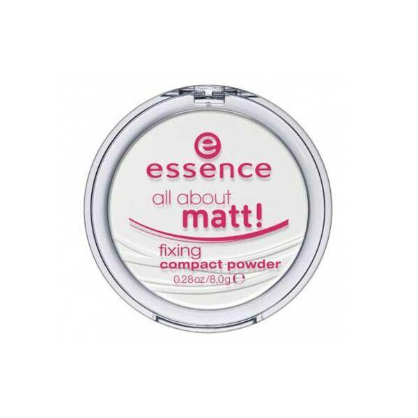 essence all about matt! fixing compact púder