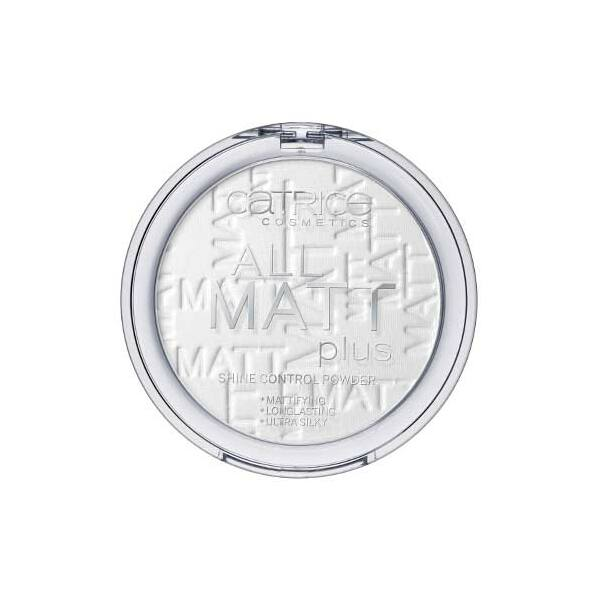 Catrice All Matt Plus Shine Control Mattító Púder 001