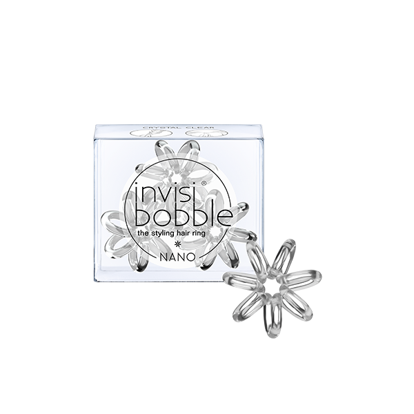 Invisibobble NANO Crystal Clear Hajgumi