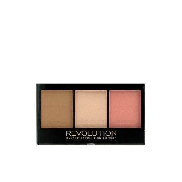 Makeup Revolution Ultra Brightening Mini arcpaletta Ultra Fair C01