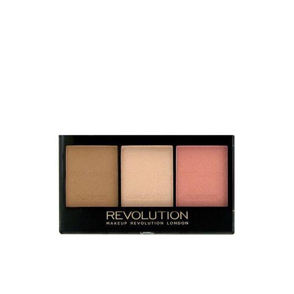 Makeup Revolution Ultra Brightening Mini arcpaletta Ultra Fair C01