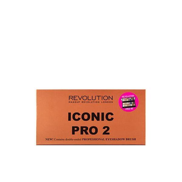 Makeup Revolution Szemhéjpúder Paletta Iconic Pro 2