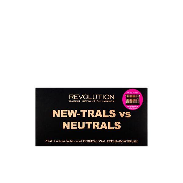 Makeup Revolution Szemhéjpúder paletta New-Trals vs Neutrals