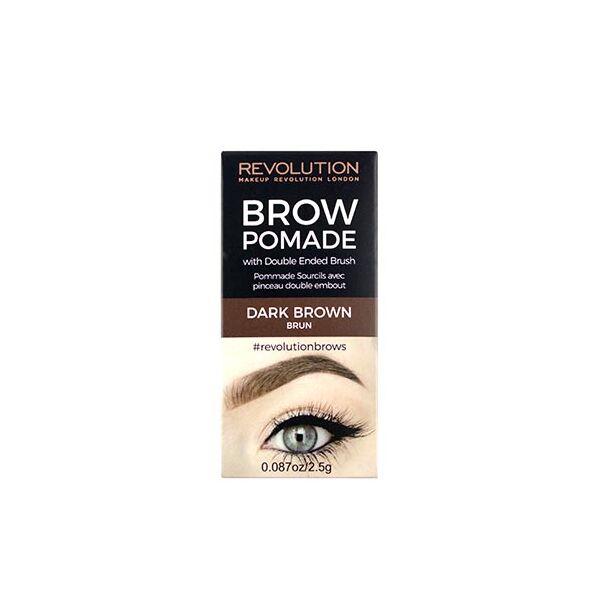 Makeup Revolution Szemöldök Pomade Dark Brown