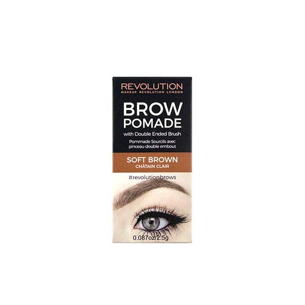 Makeup Revolution Szemöldök Pomade Soft Brown
