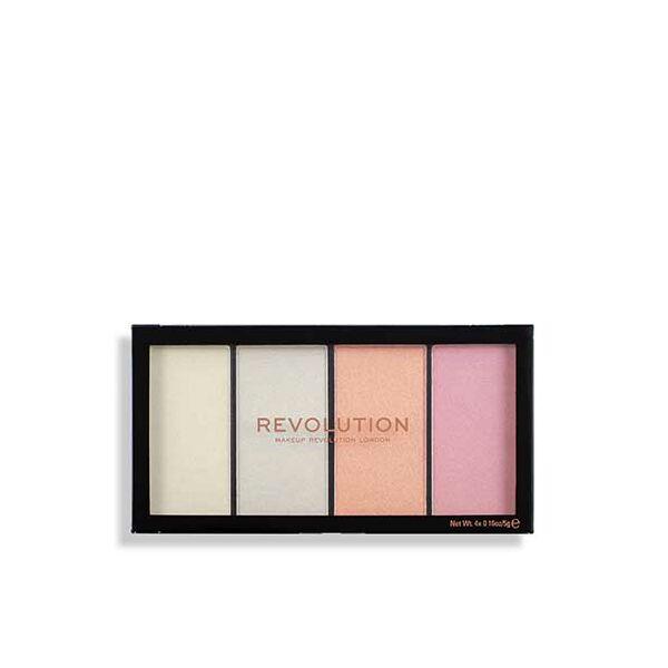 Makeup Revolution Reloaded Lustre Lights Cool Higlighter Paletta