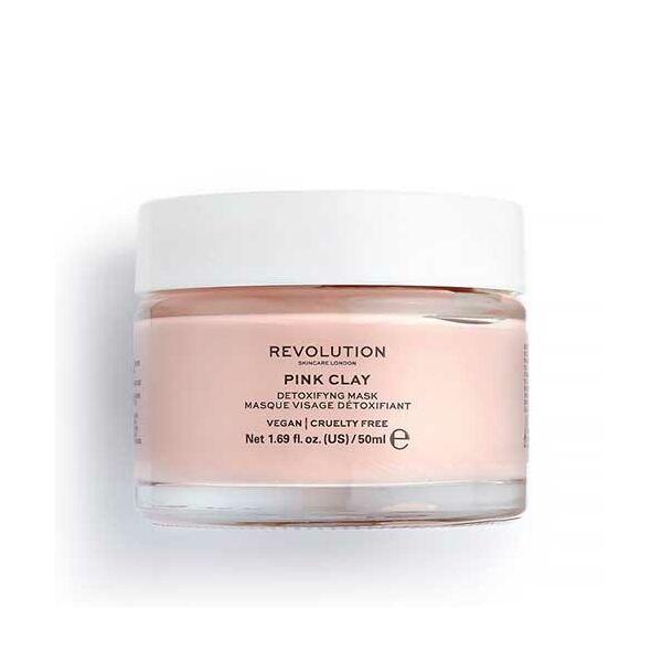 Revolution Skincare Pink Clay Rózsaszín Agyagos Méregtelenítő Arcmaszk 50ml