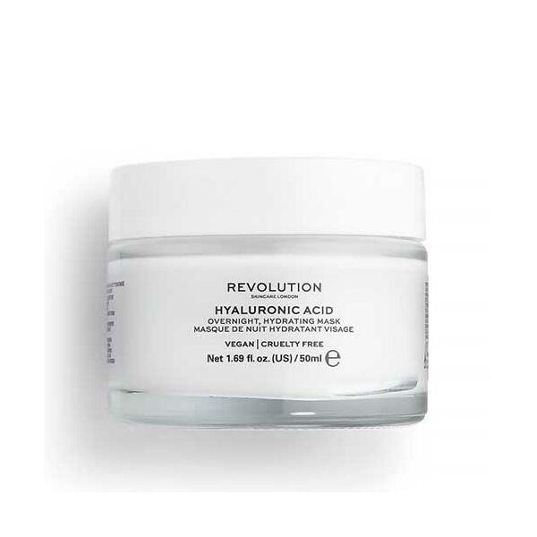 Revolution Skincare Hyaluronic Acid Éjszakai Hyaluronsavas Arcpakolás 50ml