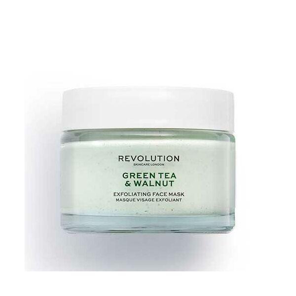 Revolution Skincare Green Tea & Walnut Hámlasztó Arcmaszk 50ml