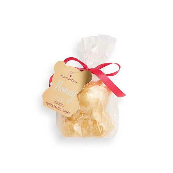 I Heart Revolution Teddy Bear Honey fürdőbomba 150gr