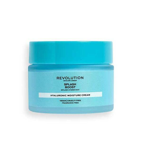 Revolution Skincare Splash Boost Feszesítő Arckrém Hyaluronsavval 50ml