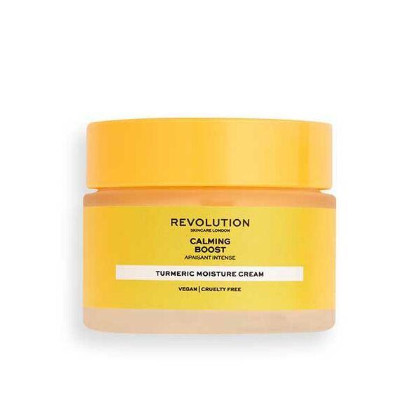 Revolution Skincare Calming Boost Nyugtató Arckrém Kurkumával 50ml