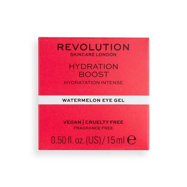 Revolution Skincare Hydration Boost Hidratáló Szemkörnyékápoló gél Görögdinnye kivonattal 15ml