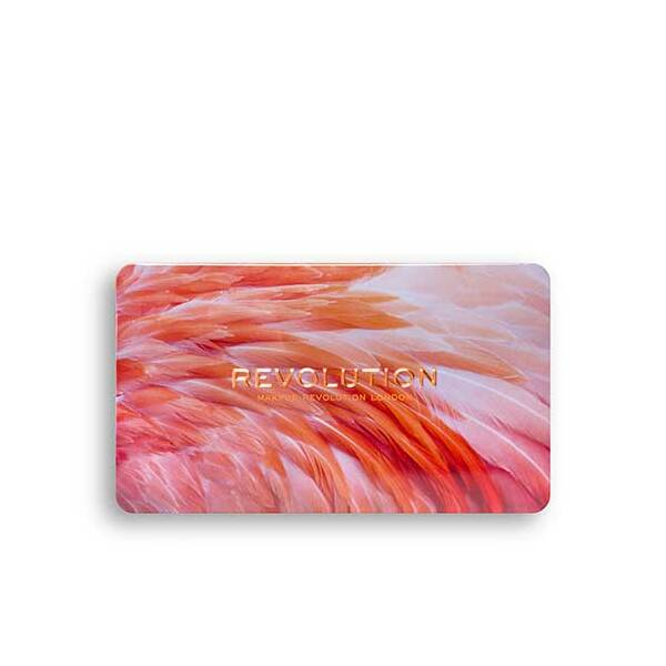 Revolution Forever Flawless flamboyance Flamingo Paletta