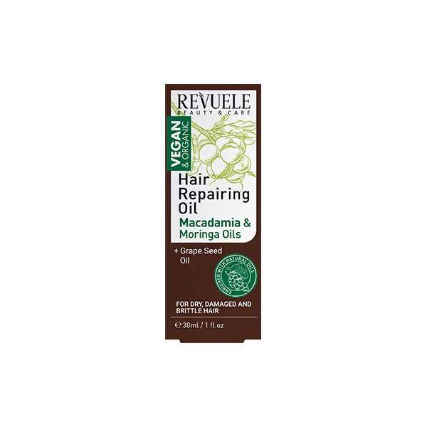 Revuele Vegan&Organic Hajregeneráló Olaj 30ml