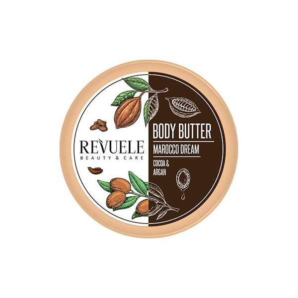 Revuele BODY BUTTER MOROCCO DREAM Argán & Kakaó Testvaj 200ml