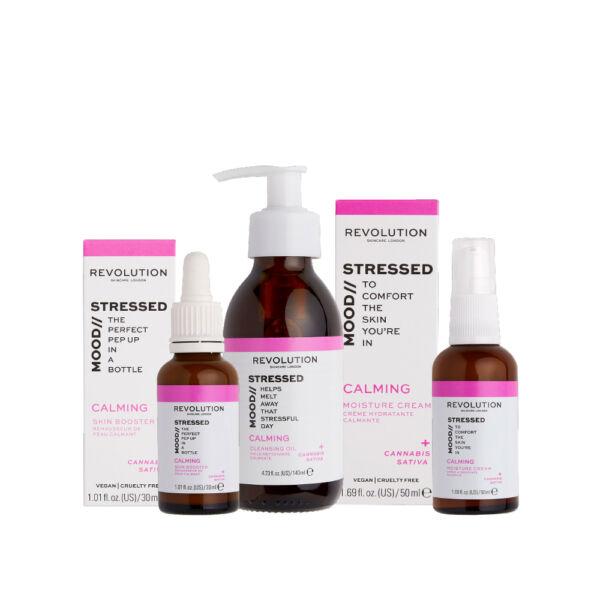 Revolution Skincare Calming Arcápoló Csomag fáradt bőrre