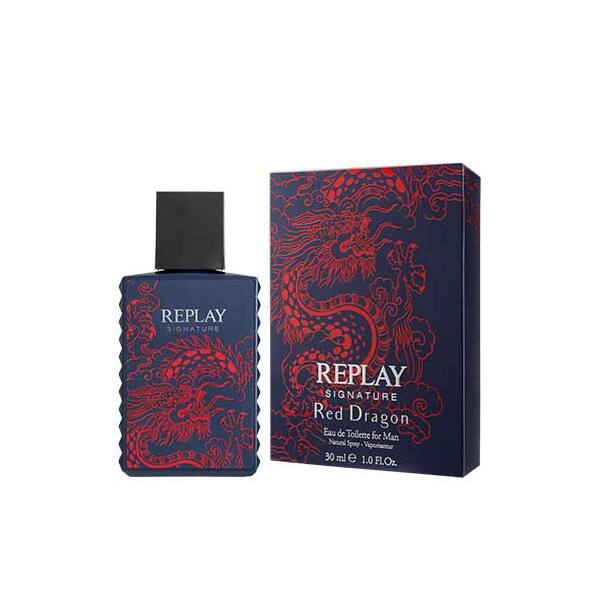 Replay Signature Red Dragon EdT férfiaknak