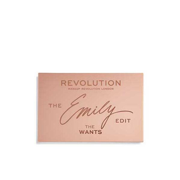 Makeup Revolution x The Emily Edit – The Wants Szemhéjpúder Paletta