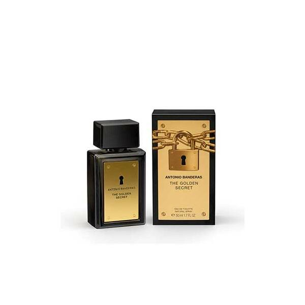 Antonio Banderas Golden Secret EdT férfiaknak
