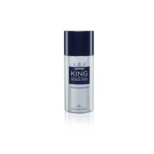 Antonio Banderas King of Seduction Deo Spray férfiaknak 150 ml
