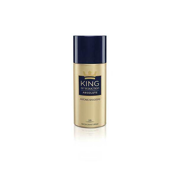 Antonio Banderas King of Seduction Absolute Deo Spray férfiaknak 150 ml