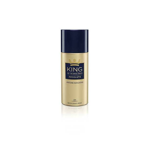 Antonio Banderas King of Seduction Absolute Deo Spray férfiaknak 150 ml