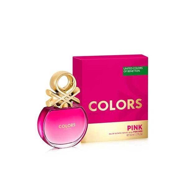 Benetton Colors Pink EdT nőknek