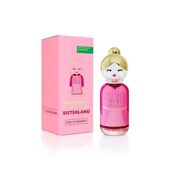 Benetton Sisterland Pink Raspberry Edt Nőknek 80 ml