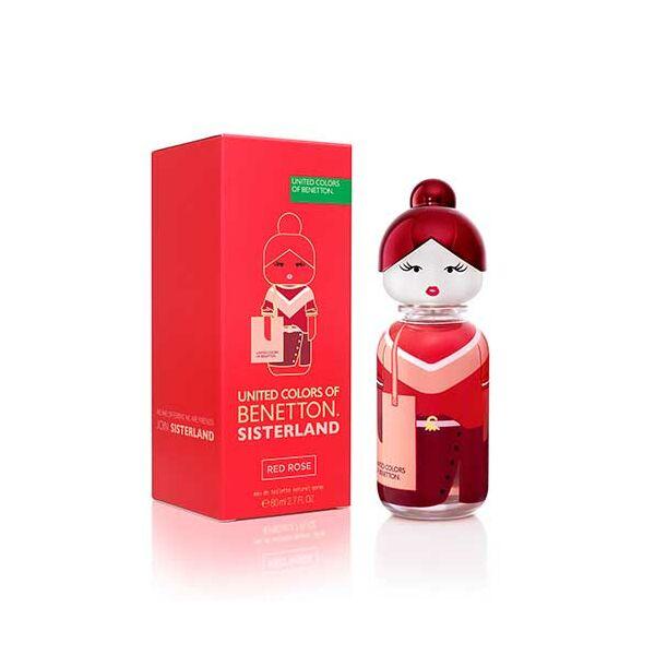 Benetton Sisterland Red Rose Edt Nőknek 80 ml