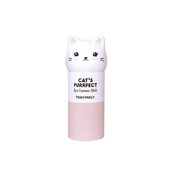 TONYMOLY Cat's Purrfect Élénkítő Szemkörnyékápoló Stift 10 gr